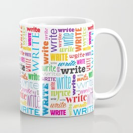 Write (in color) Coffee Mug