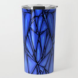 Blue diamond Travel Mug