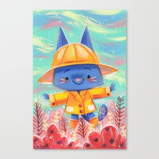 Raincoat 2 Canvas Print