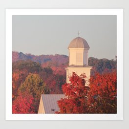 Fall Foilage Photography Dandridge Tennessee Art Print