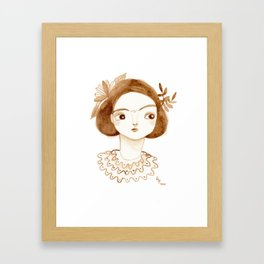 Coffee Fri Framed Art Print