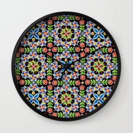 Decorative Gothic Revival Wall Clock