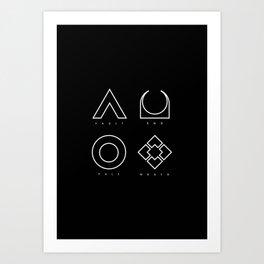 PAUSE – RAID Art Print