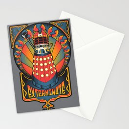 Dalek Nouveau Stationery Cards
