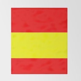 Flag of spain 4-spain,espana, spanish,plus ultra,espanol,Castellano,Madrid,Barcelona Throw Blanket