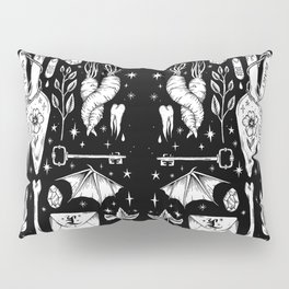 into the WITCH'S GARDEN Pillow Sham