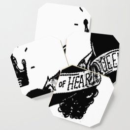 Queen of hearts, Custom gift design Coaster