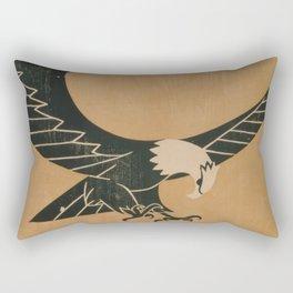 Vintage Illustration of a Bald Eagle (1917) Rectangular Pillow