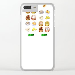 Dim Sum Clear iPhone Case