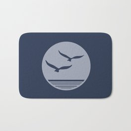 Sea Birds Bath Mat