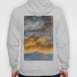 clouds in the morning, sunrise Hoody