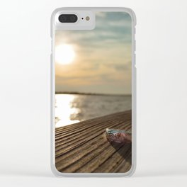 Just Have A Little Faith Clear iPhone Case