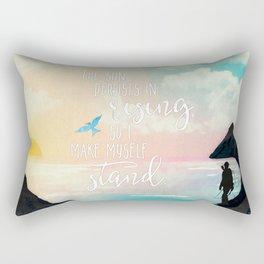 I Make Myself Stand - THG Rectangular Pillow