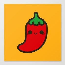 Cute chilli Canvas Print
