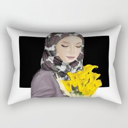 Beauty Muslimah Rectangular Pillow