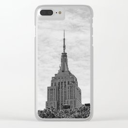Empire Stat Building II Clear iPhone Case