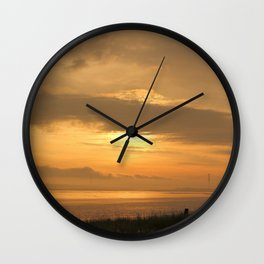 5:30 am Humber Bridge Wall Clock