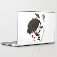 snow Laptop & iPad Skins featuring Snow by Danny Haas