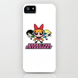 SmashThePatriarchy iPhone Case