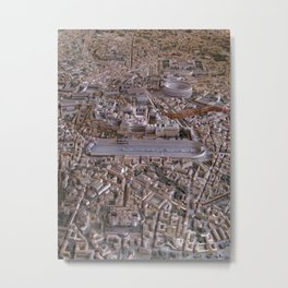 Rome in the Time of Constantine Metal Print