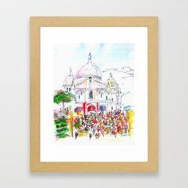 Le Sacre Coeur Framed Art Print