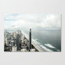 Paradise Storms Canvas Print