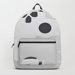 White Game console Backpack