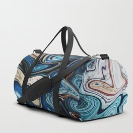 Calcite Marble Opal stone Duffle Bag