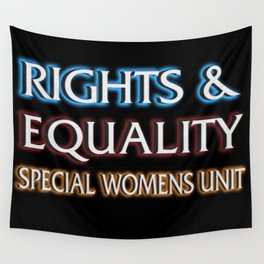 RIGHTS AND EQUALITY Wall Tapestry