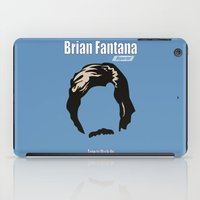 anchorman iPad Cases featuring Brian Fantana: Reporter by BC Arts