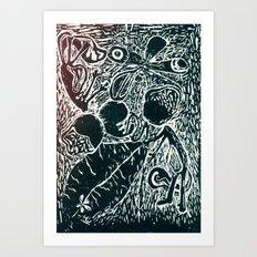L I F E Art Print