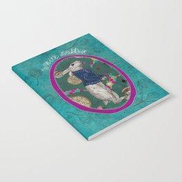 Follow the White Rabbit Notebook