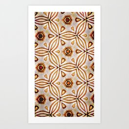 Bonitum Ornament #2 Art Print