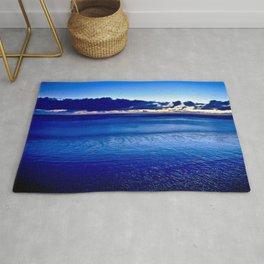 BLUE SILENCE of the SEA Rug