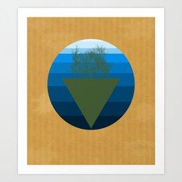 Forestation Art Print
