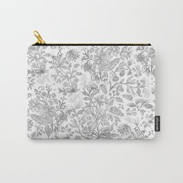 Flower Style Pattern XL Carry-All Pouch