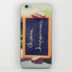 Choose Happiness iPhone & iPod Skin
