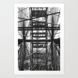 World's Columbian Exposition Ferris Wheel Art Print