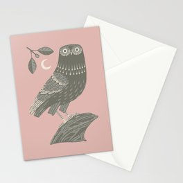 The Owl of Athena Stationery Cards
