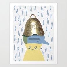 Bell Hat Art Print