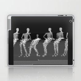 Manikin - Glitch Art Laptop & iPad Skin