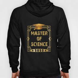 FH Uni Master of Science 2020 graduation gift Hoody
