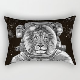 Astronaut Lion King Selfie Rectangular Pillow