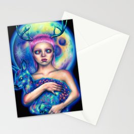 Inner space Stationery Cards