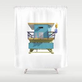 Lifesaver 005 Shower Curtain