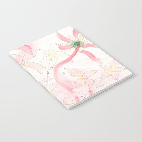 Summer flower meadow Notebook