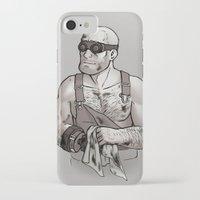 engineer iPhone & iPod Cases featuring Engineer by Kata (koomalaama)