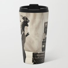 Nerdy Metal Travel Mug