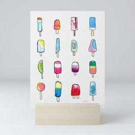 Popsicles Mini Art Print