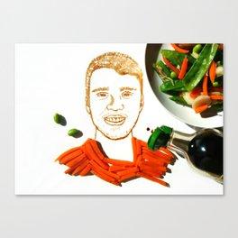 JB Stir Fry Vegetable Canvas Print